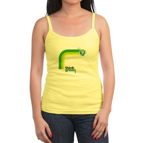Think Green Earth Rainbow Jr. Spaghetti Tank