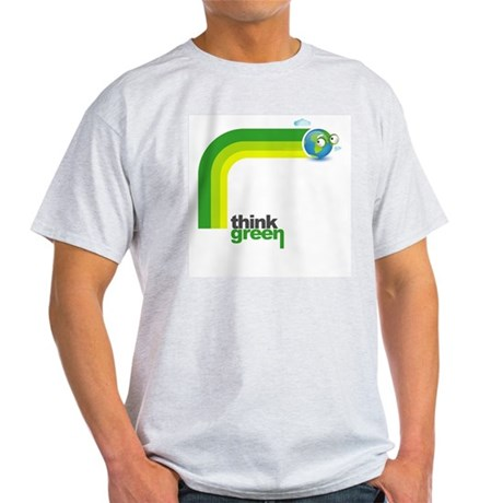 Think Green Earth Rainbow Light T-Shirt