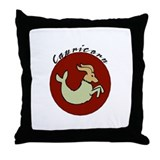 Capricorn1 Throw Pillow