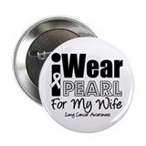 "Pearl Ribbon Wife 2.25"" Button (10 pack)"
