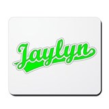 Retro Jaylyn (Green) Mousepad