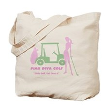 Pink Diva Golf - Tote Bag