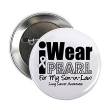 "Pearl Ribbon Son-in-Law 2.25"" Button"