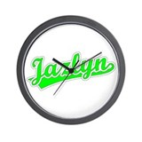 Retro Jazlyn (Green) Wall Clock