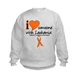 I Love Someone w/Leukemia Sweatshirt