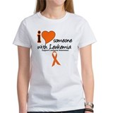 I Love Someone w/Leukemia Tee