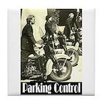 Parking Control Tile Coaster