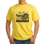 C.S.I. Illinois Yellow T-Shirt