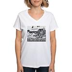 C.S.I. Illinois Women's V-Neck T-Shirt