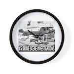 C.S.I. Illinois Wall Clock