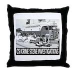 C.S.I. Illinois Throw Pillow