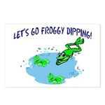 Froggy Dipping Postcards (Package of 8)