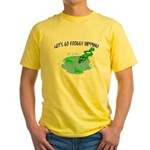 Froggy Dipping Yellow T-Shirt