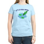 Froggy Dipping Women's Light T-Shirt
