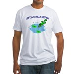 Froggy Dipping Fitted T-Shirt