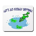 Froggy Dipping Mousepad