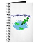 Froggy Dipping Journal