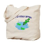 Froggy Dipping Tote Bag