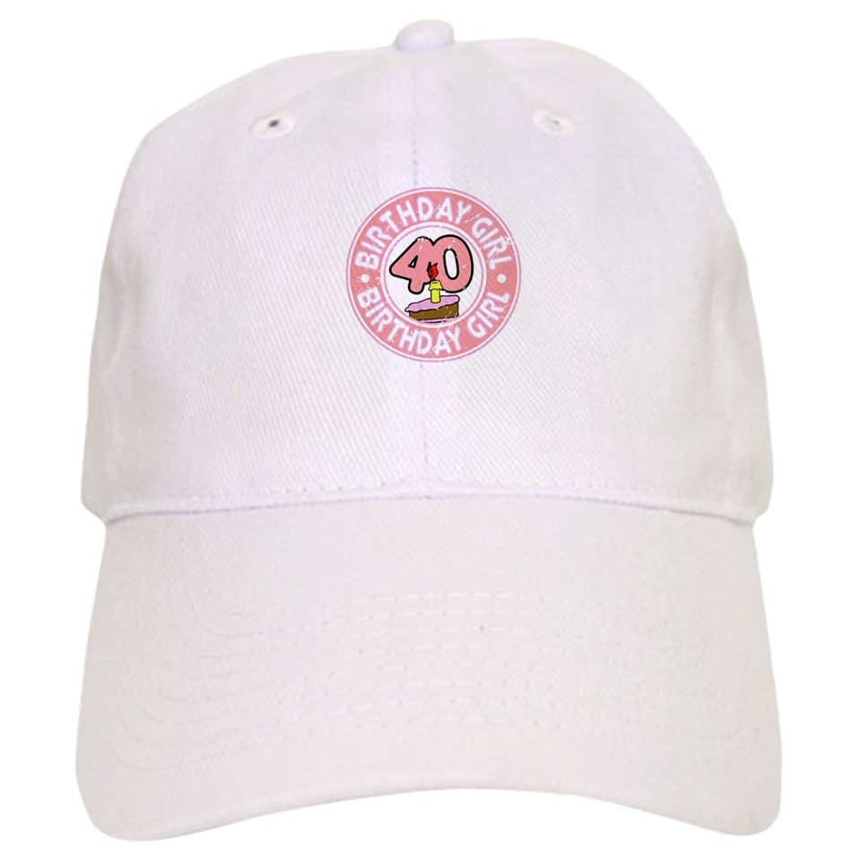 f33eeaf93e3 Gifts 40Th Birthday Hats   Caps Birthday Girl  40 Baseball Cap on ...