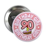 "Birthday Girl #90 2.25"" Button"