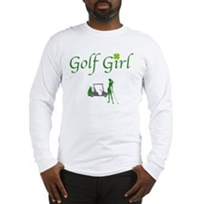 Lucky Golf Girl - Long Sleeve T-Shirt