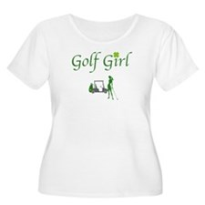 Lucky Golf Golf- Women's Plus Size T-Shirt