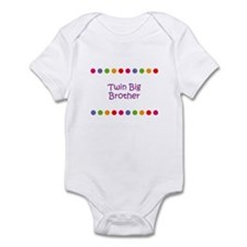 Twin Big Brother Infant Bodysuit