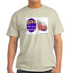 Sexy Fast Food Worker Ash Grey T-Shirt