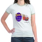 Sexy Fast Food Worker Jr. Ringer T-Shirt