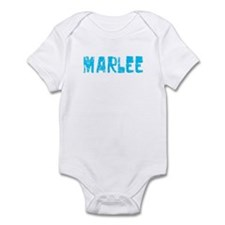 Marlee Faded (Blue) Infant Bodysuit
