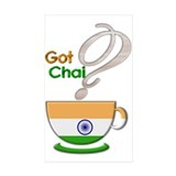 Got Chai? Indian - Rectangle Sticker 10 pk)