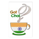 Got Chai? Indian - Postcards (Package of 8)