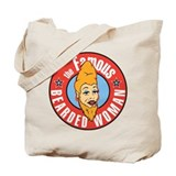 Bearded Woman Tote Bag