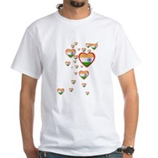 Hearts (Flag - India) - Shirt
