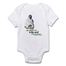 Mahatma Gandhi - Be The Change - Infant Bodysuit