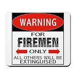 Firemen Mousepad