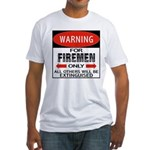 Firemen Fitted T-Shirt