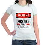 Firemen Jr. Ringer T-Shirt