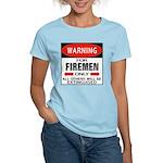 Firemen Women's Pink T-Shirt