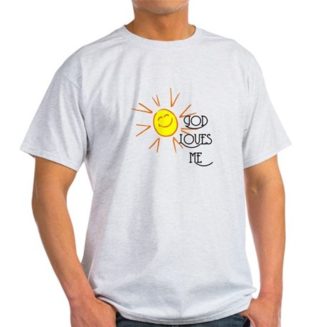 God Loves Me Light T-Shirt