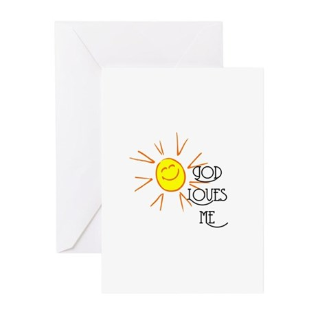 God Loves Me Greeting Cards (Pk of 20)