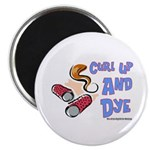 Curl Up And Dye Salon Magnet