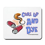Curl Up And Dye Salon Mousepad