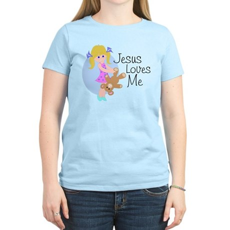 Jesus Loves Me Women's Light T-Shirt