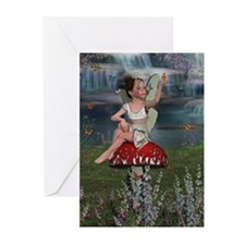 Megan, a Young Fairy Greeting Cards (Pk of 20)