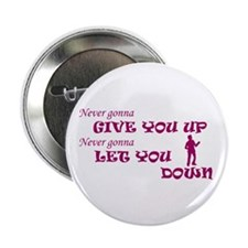 "Rickroll'd 2.25"" Button (100 pack)"
