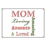 Mom Mother's Day Banner