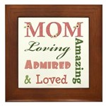 Mom Mother's Day Framed Tile