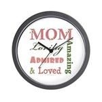 Mom Mother's Day Wall Clock
