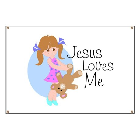 Jesus Loves Me Banner